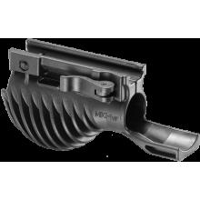 Комбинированная складная передняя тактическая рукоятка с держателем фонаря MIKI 1