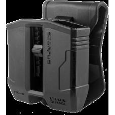 Двойной поворотный пенал PG-9S для магазинов Glock 9мм