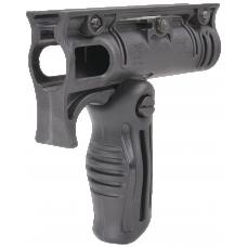 Двухпозиционная тактическая передняя рукоятка с креплением для фонаря FFA-T4