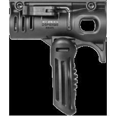 Комбинированная складная передняя тактическая рукоятка с держателем светодиодного фонаря Stinger FFS