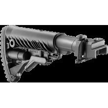 Приклад телескопический складной для АК47/74 M4-AK