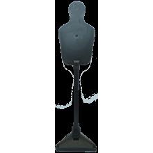 Комплект падающих самозатягивающихся мишеней (стойка, опора, шарнирный механизм, 2 цели)