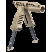 Комбинированная передняя тактическая рукоятка-сошки G2 и держатель фонаря T-POD G2 FA